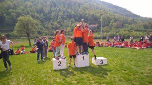 giornata sportiva insieme a tutti gli alunni di SP