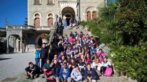 visita a villa Rizzoli