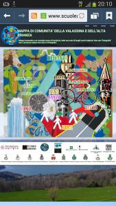 Mappa di comunità della Valassina e dell'Alta Brianza